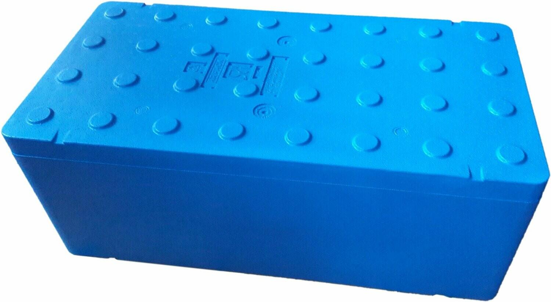FB2500 Termobox 80x40x31cm blu 63l pudło styropian niebieskie