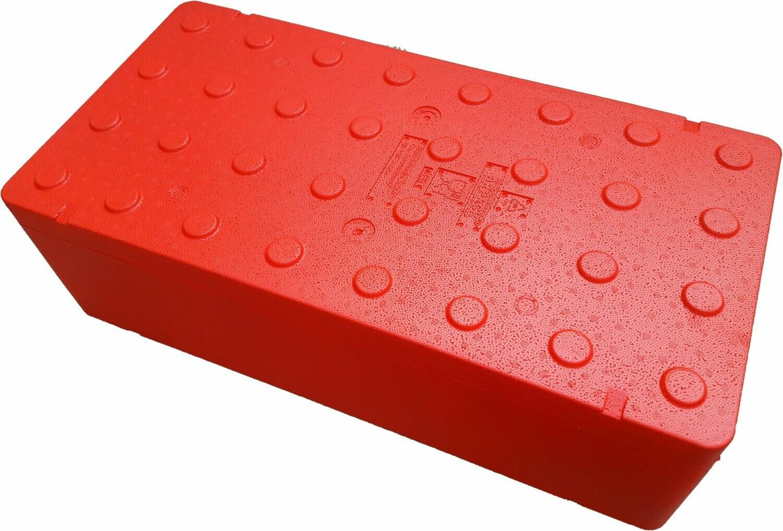 FB2500 Termobox 80x40x31cm orange 63l pudło styropian