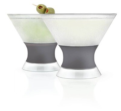 Martini FREEZE™ Cooling Cups | Set of 2