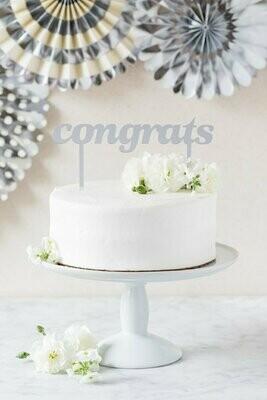 Congrats Cake Topper