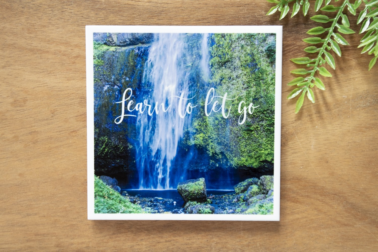 Learn To Let Go-Nature Photo Coaster