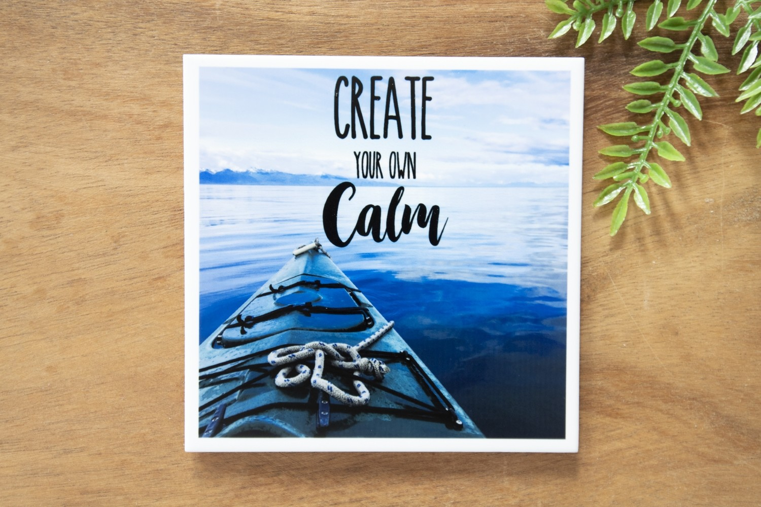 Create Your Own Calm-Nature Photo Coaster