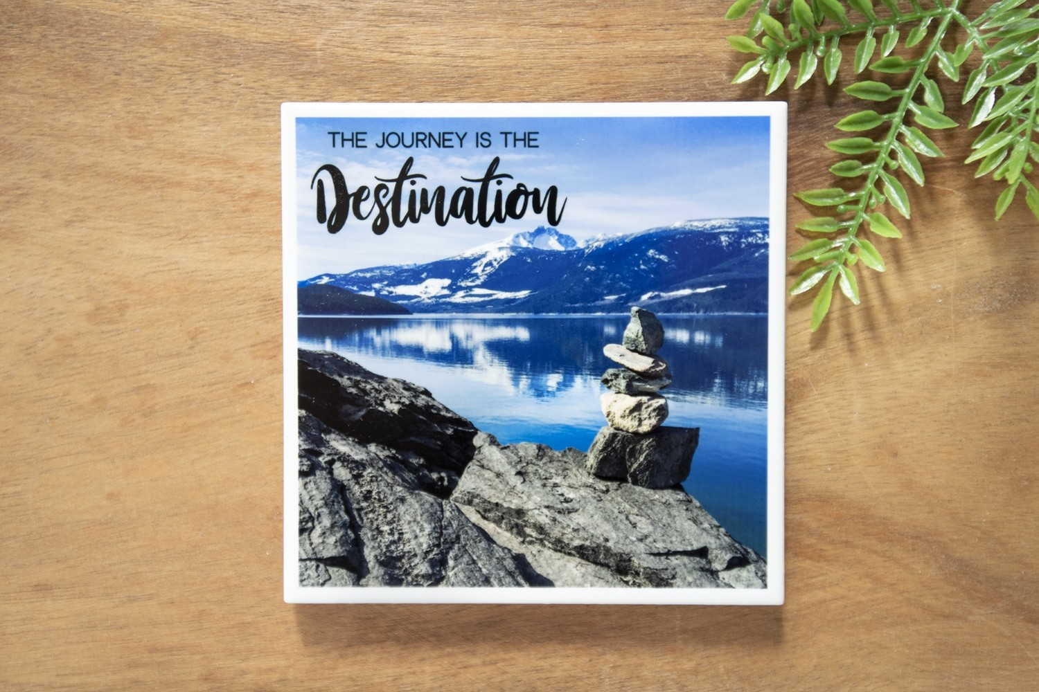The Journey Is The Destination-Nature Photo Coaster