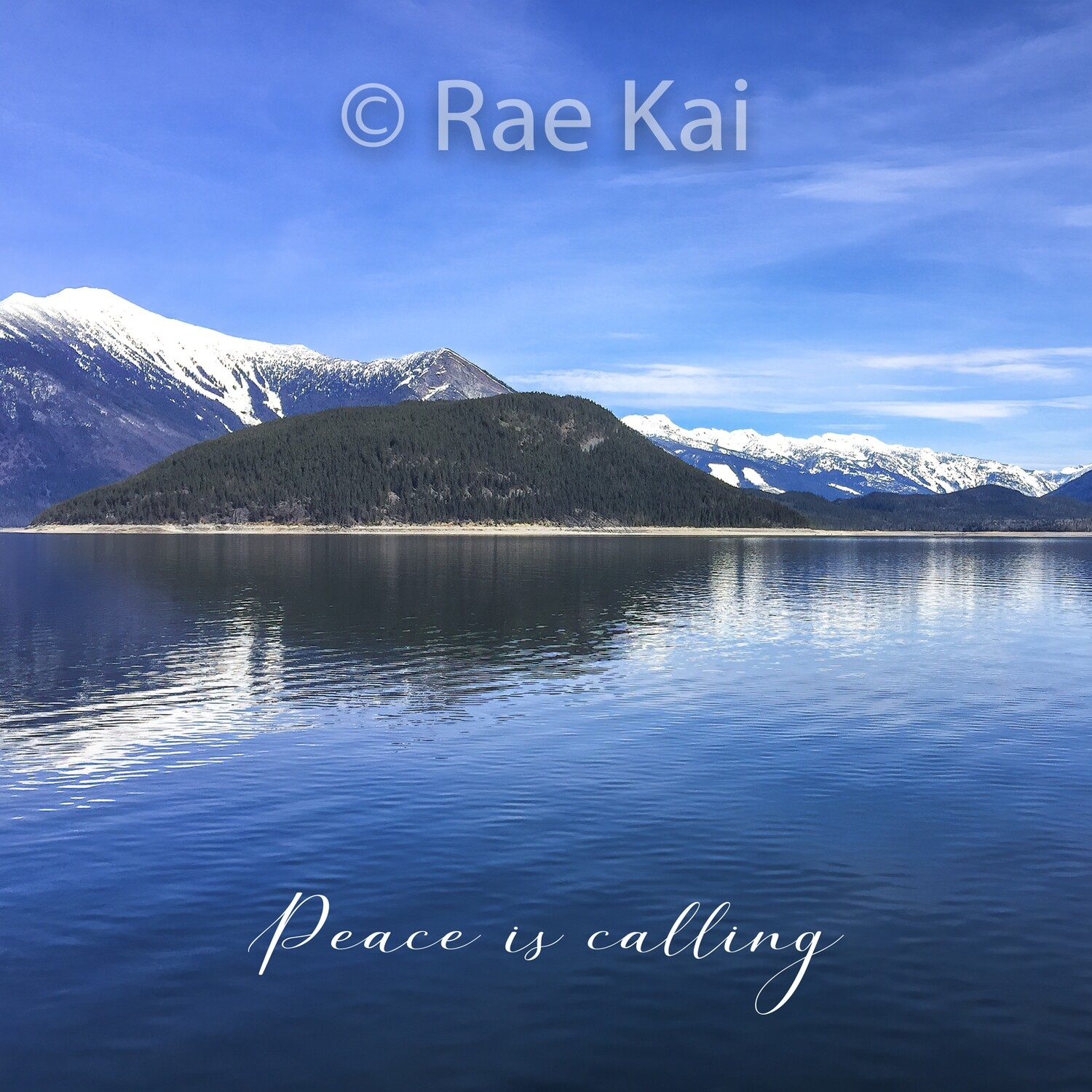 Peace is Calling-Inspirational Square Photo