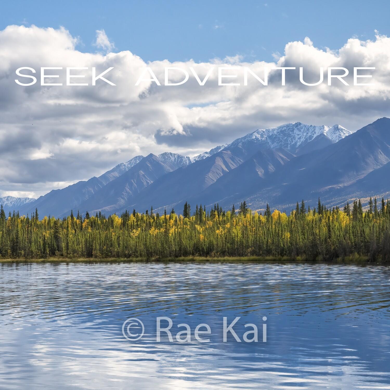 Seek Adventure-Inspirational Square Photo