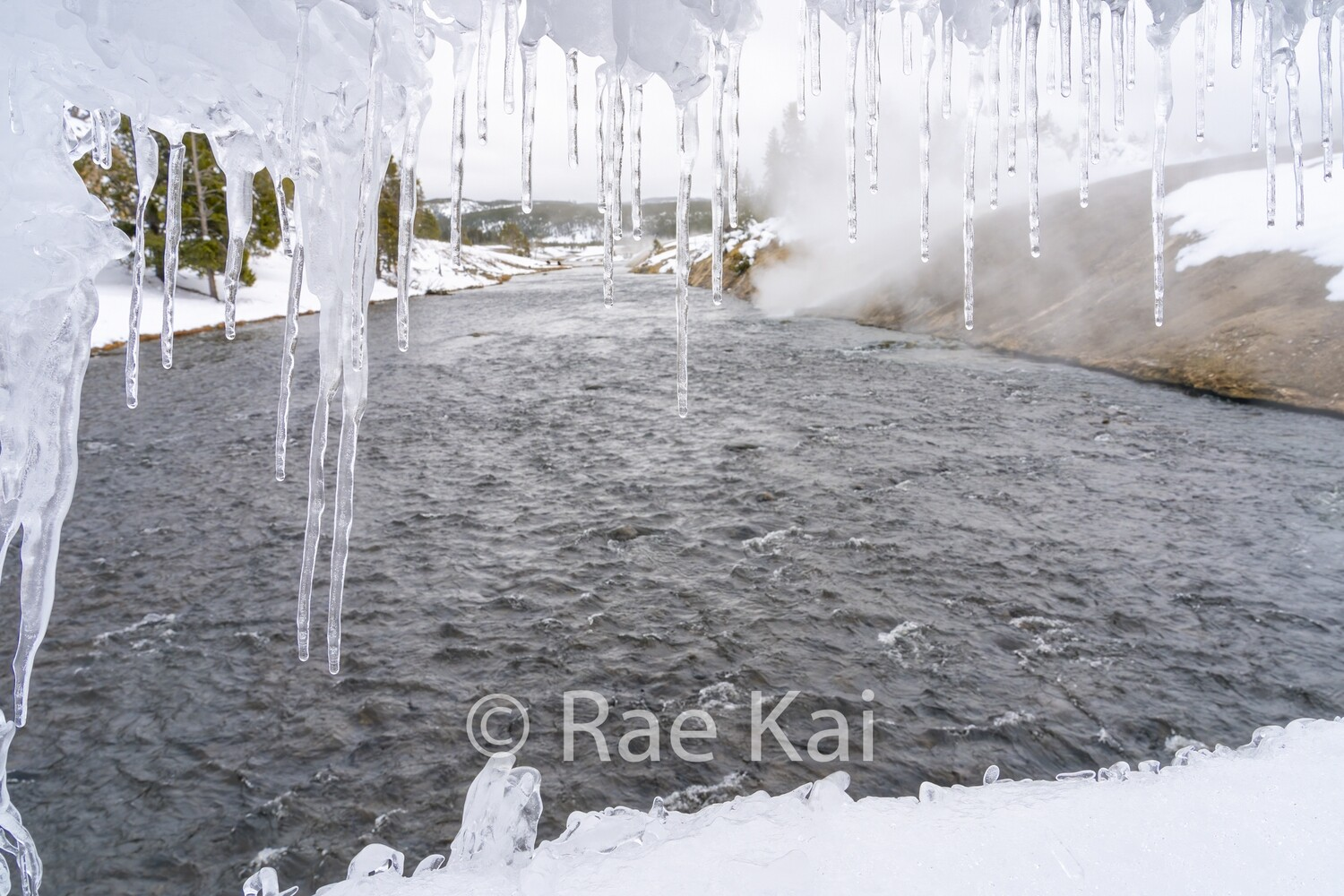 Framing Ice-Traditional Photo
