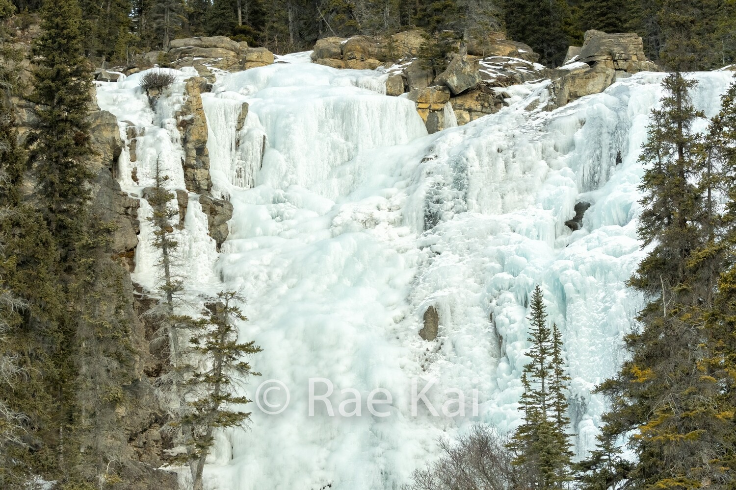 Frozen Tangle Falls-Traditional Photo