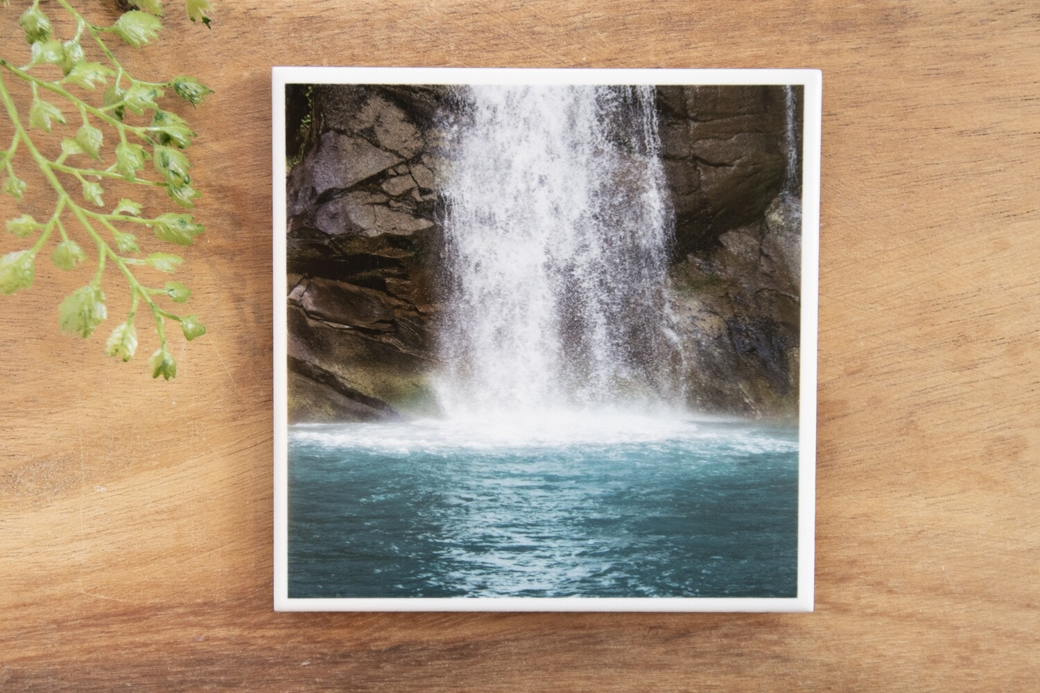 Waterfall Plunge-Nature Photo Coaster