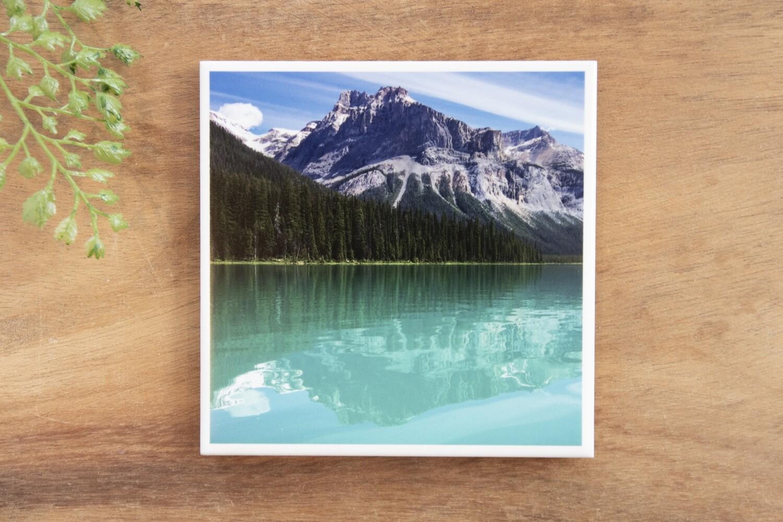 Summer Emerald Lake-Nature Photo Coaster