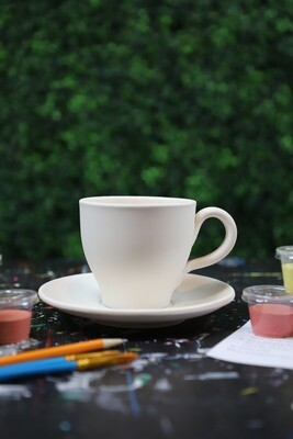 Mug Teacup and Saucer