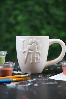 Mug Love Pawprint