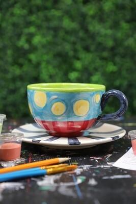 Mug Cappucino/Saucer