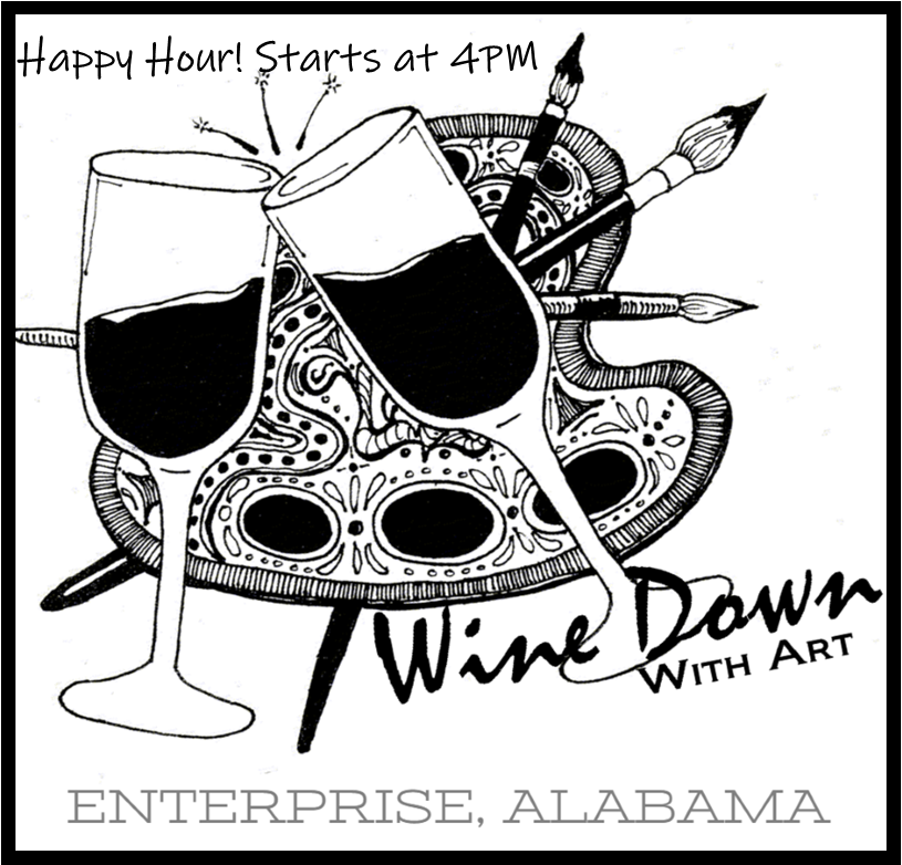 """""""Wine"""" Down With Art"""