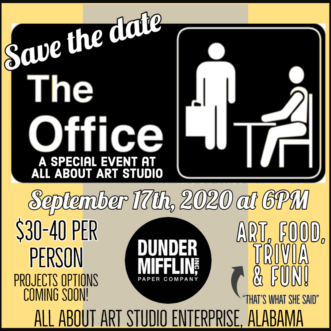 The Office - A Special Event at All About Art