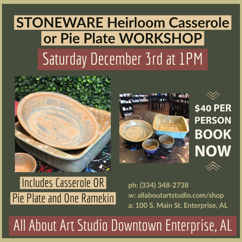 Stoneware Class