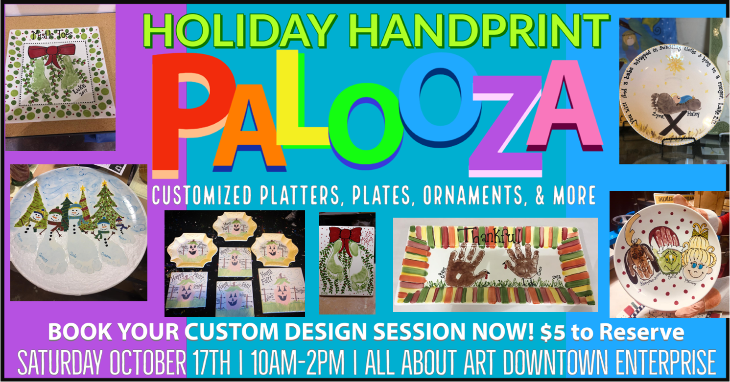 Holiday Handprint Palooza