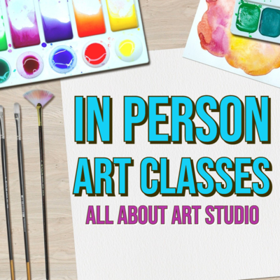 In Person Art Classes