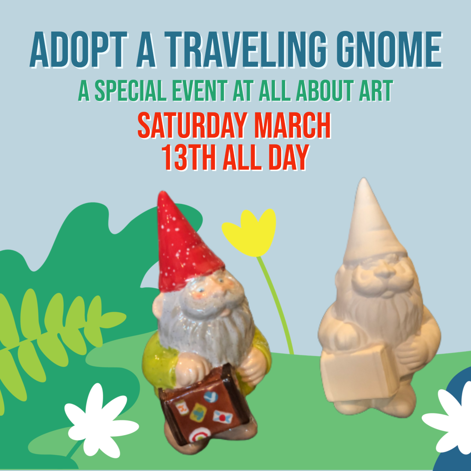 Adopt a Traveling Gnome Specail Event
