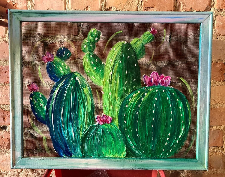 Framed Screen Painting Class