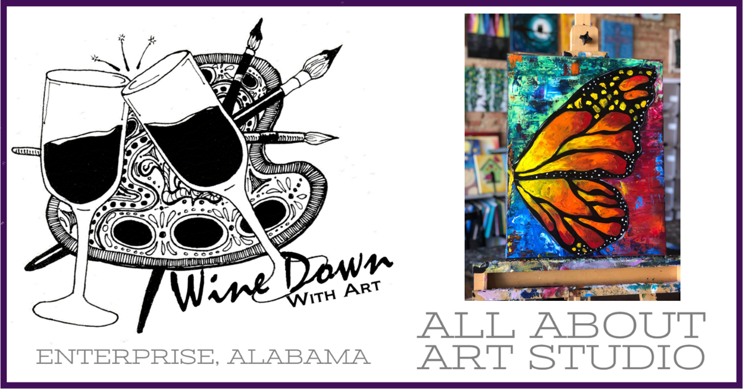 """""""Wine"""" Down With Art (Adults 18+)"""