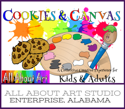 Cookies and Canvas (Elementary Age and Up)