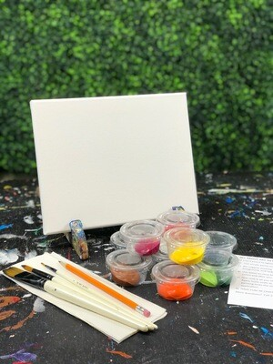 8X10 Canvas Painting Kit