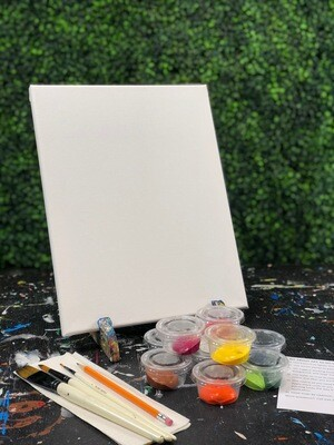 11X14 Canvas Painting Kit