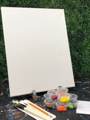16X20 Canvas Painting Kit
