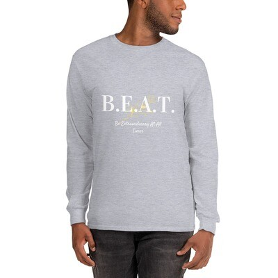 'Be Extraordinary At All Times' Men's Long Sleeve Shirt