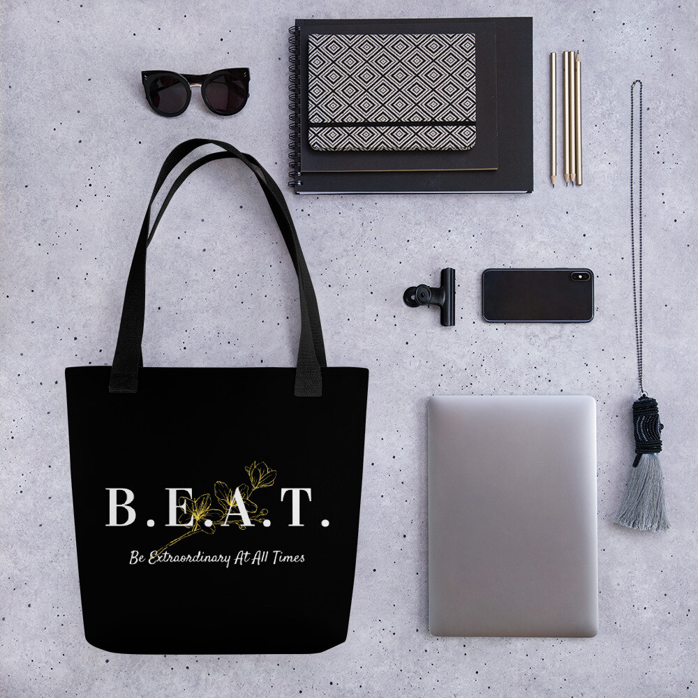 'Be Extraordinary At All Times' Tote bag