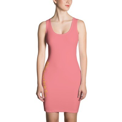 'Be Extraordinary At All Times' Bodycon Dress
