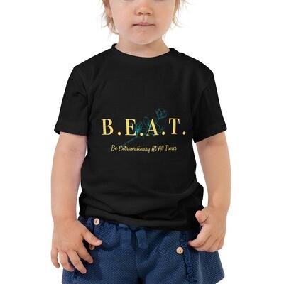 B.E.A.T. Toddler Girls Short Sleeve Tee