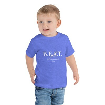 B.E.A.T. Toddler Boys Short Sleeve Tee