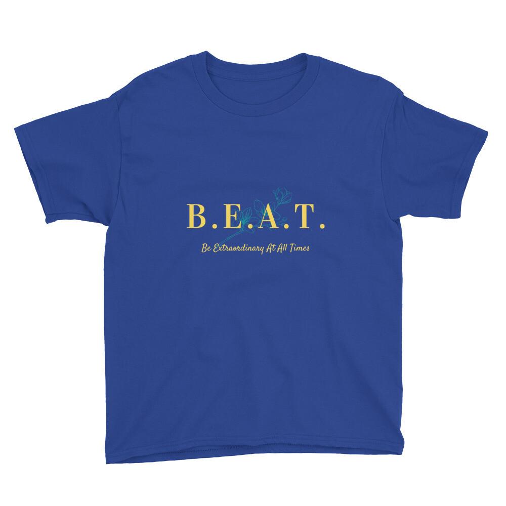 B.E.A.T. Youth Short Sleeve T-Shirt (Unisex)