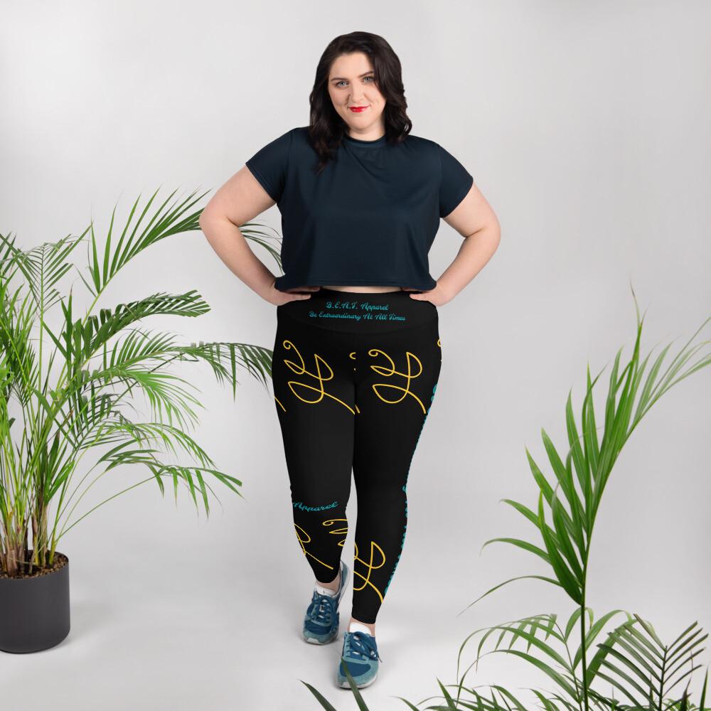 B.E.A.T. Yoga Leggings Plus Size