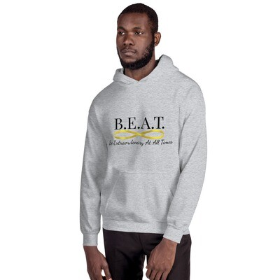 'Be Extraordinary At All Times' Men's Hoodie