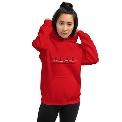 'Be Extraordinary At All Times' Women's Gold Wave Hoodie