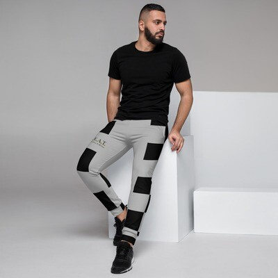 'Be Extraordinary At All Times' Gold Wave Men's Joggers