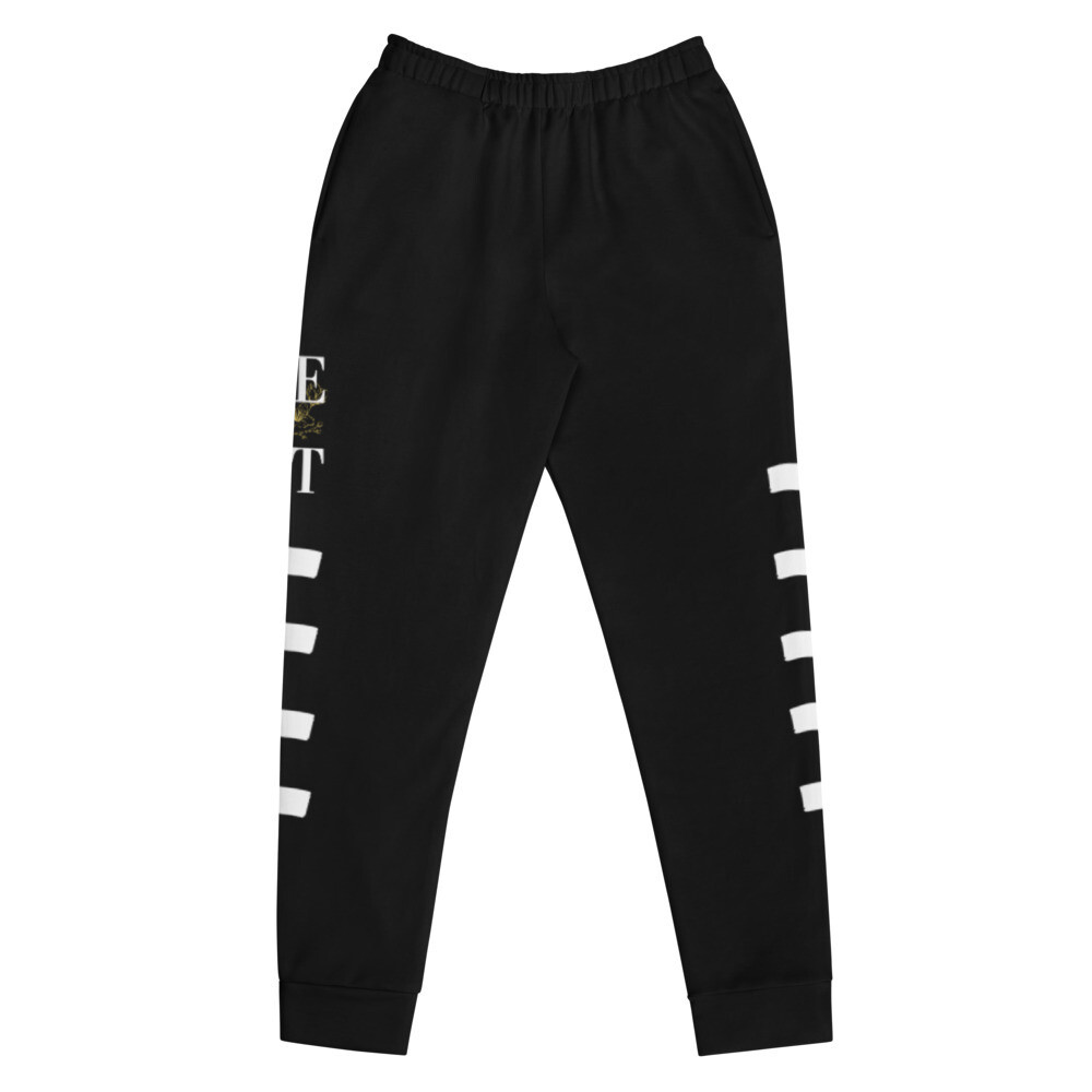 B.E.A.T. White Stripped Women's Joggers