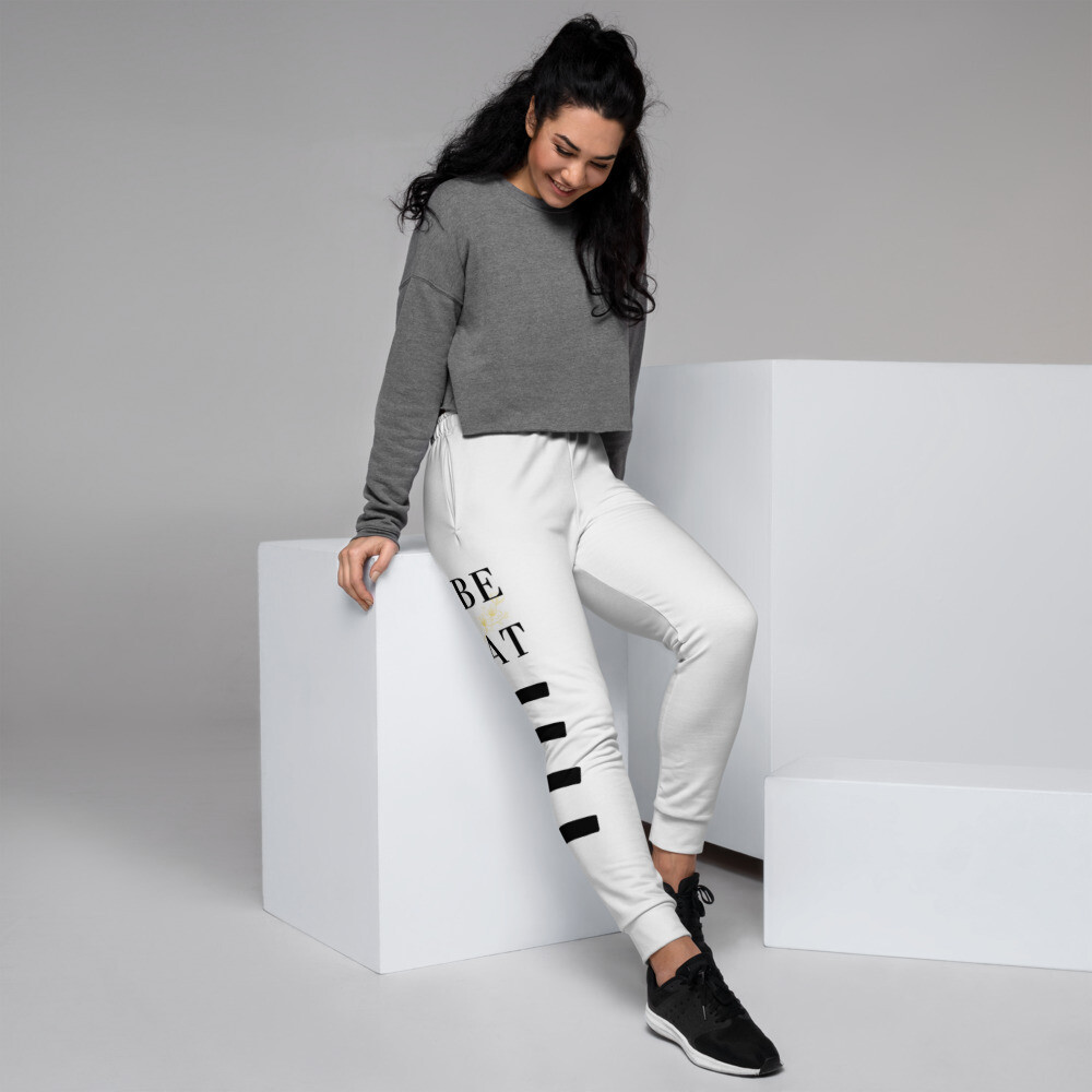 B.E.A.T. Black Stripped Women's Joggers