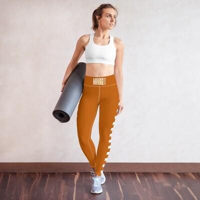B.E.A.T. 'Mindset is Key' Yoga Leggings w/ pockets