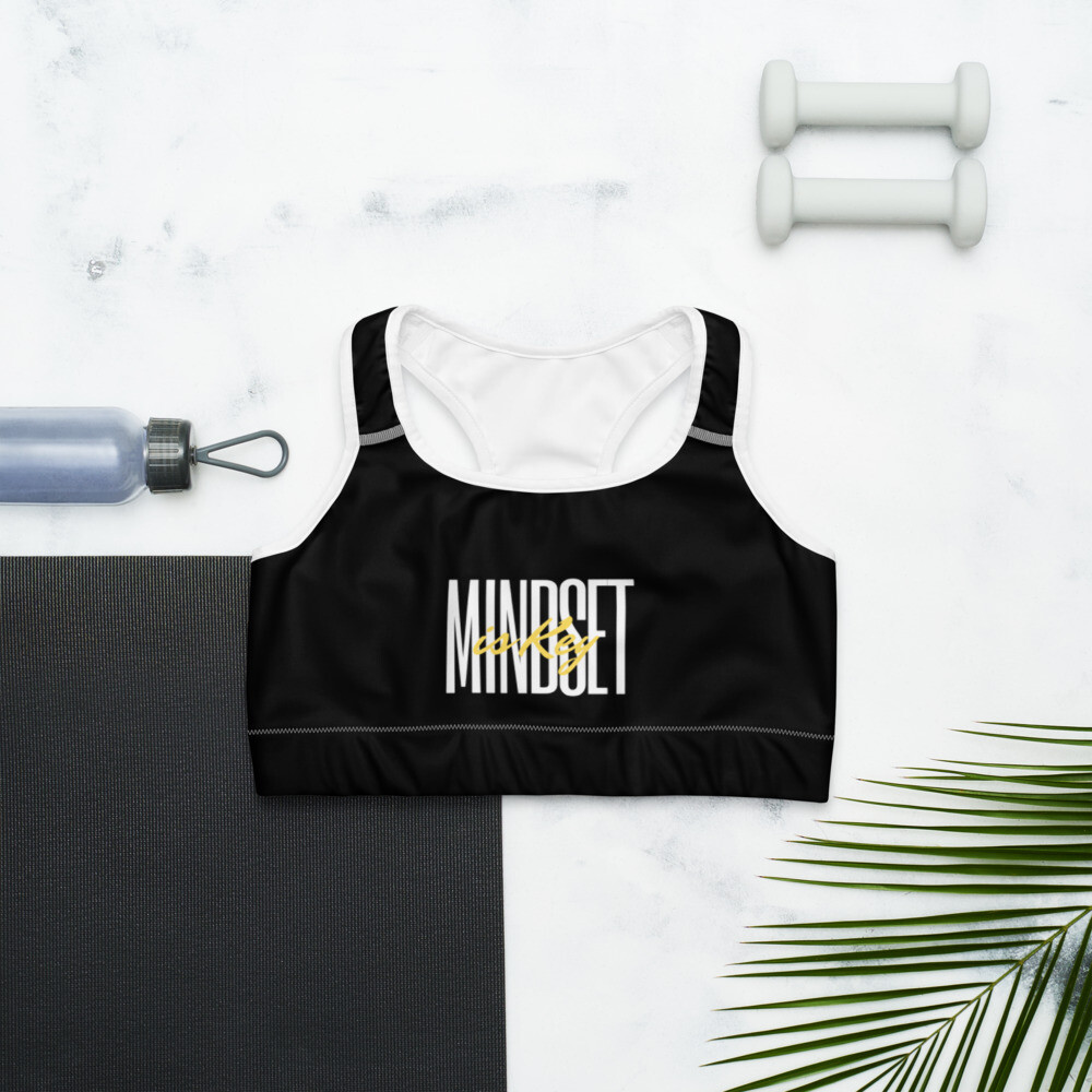 B.E.A.T. 'Mindset is Key' Sports bra