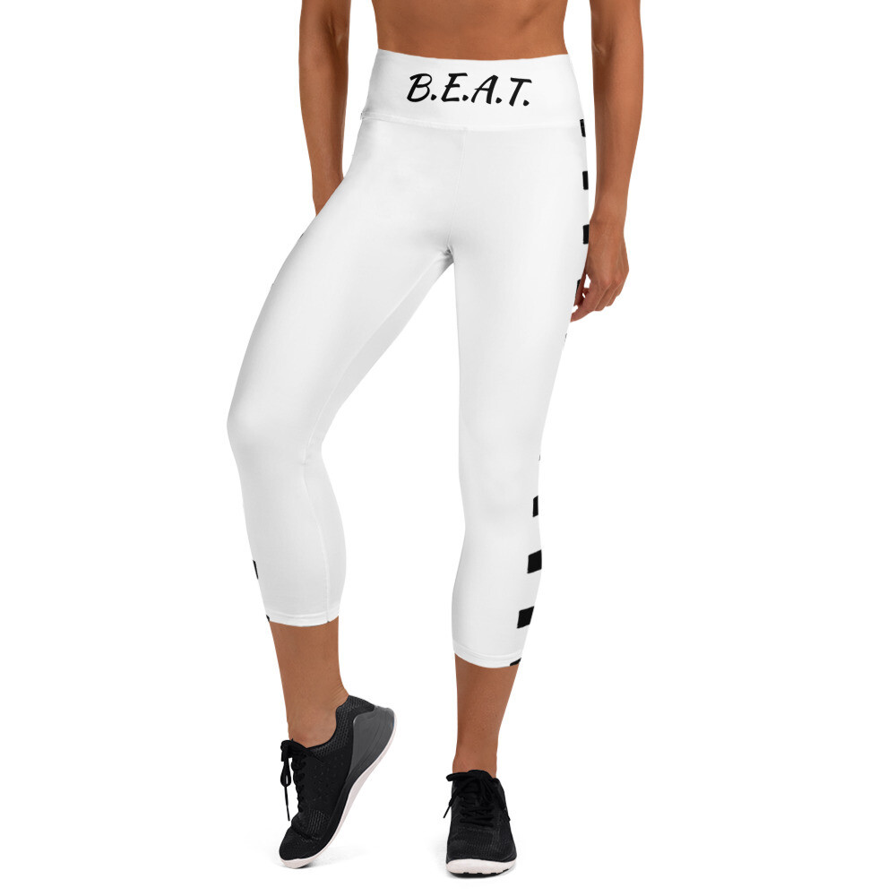 B.E.A.T. 'Established' Yoga Capri  Leggings w/ pockets