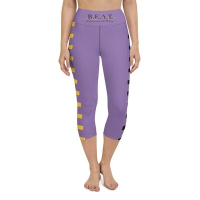 'Be Extraordinary At All Times' Yoga Capri Leggings