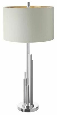 Brushed Nickle Lamp