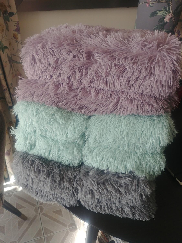 Faux Fur Throw - 3 Colours
