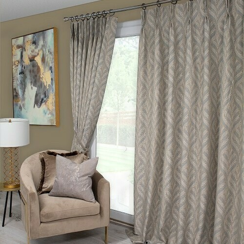 Double Pleat Ready-made Curtains