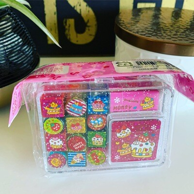 Japan Pool Cool Rubber Stamp Set