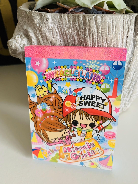 Japan Kamio Miracleland Small Memo Pad