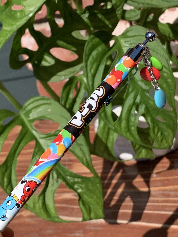 Japan Lotte Sakamoto Chocolate Smarties Mascot Mechanical Pencil